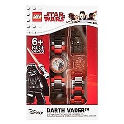 LEGO - Kid's multi-coloured 'Star WarsÞ Darth VaderÞ' buildable watch 8021018