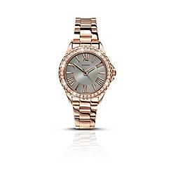 Sekonda - Ladies rose gold analogue fashion bracelet watch 2397.28