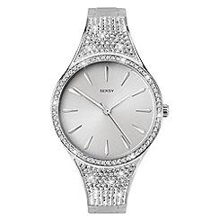 Sekonda - Ladies silver analogue Swarovski« crystal fashion bracelet watch 2668.37