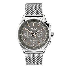Sekonda - Men's silver chronograph bracelet watch 1490.28