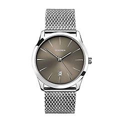Sekonda - Men's silver analogue bracelet watch 1587.28