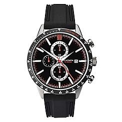 Sekonda - Men's black chronograph watch 1594.28