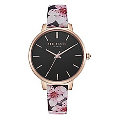Ted Baker - Ladies multi-coloured 'Kate' analogue leather strap watch TE50272001