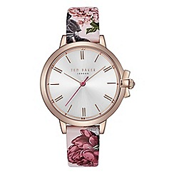 Ted Baker - Ladies multi-coloured u0027Ruthu0027 analogue leather strap watch TE50267001  sc 1 st  Debenhams & Womenu0027s Watches | Debenhams