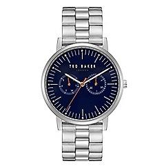 Ted Baker - Men's silver 'Brit' analogue bracelet watch TE50274007
