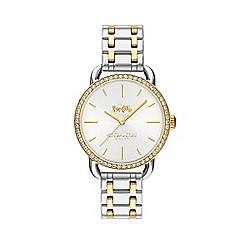 Coach - Ladies gold and silver 'Lex' Swarovski crystal bracelet watch 14502895