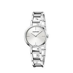 Calvin Klein - Ladies silver 'Cheers' analogue bracelet watch K8N23146