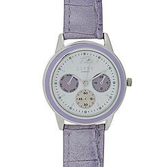 Lipsy - Womens' Purple Mock Multi Dial Watch