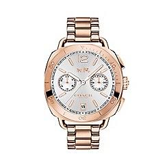 Coach - Ladies rose gold 'Tatum' analogue bracelet watch 610113005