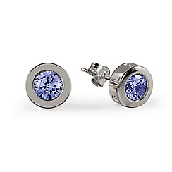 Radley - Silver Cubic Zirconia Stud Earrings