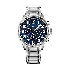 Tommy Hilfiger - Men s chronograph stainless steel bracelet watch 1791053 0fbc7e993