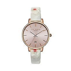 Ted Baker - Ladies Watch with Print strap