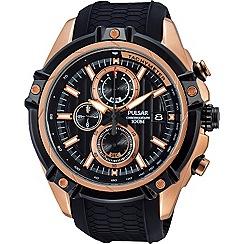 Pulsar - Mens WRC chronograph strap watch pv6002x1