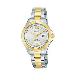 Pulsar - Ladies two tone sports bracelet watch ph7382x1