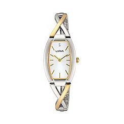 Lorus - Ladies gold plated dress bracelet watch rrw51ex9