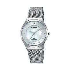 Pulsar - Ladies stainless steel bracelet watch ph8131x1