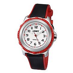 Limit - Kids' silver coloured plastic strap watch 5598.24