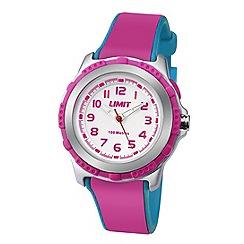 Limit - Kids' silver coloured plastic strap watch 5599.24