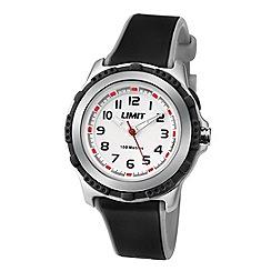 Limit - Kids' silver coloured plastic strap watch 5597.24