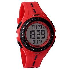 Limit - Kids' red digital plastic strap watch 5392.56