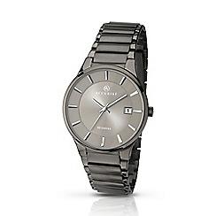 Accurist - Men's gun metal bracelet watch 7009.01