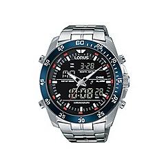 Lorus - Gents duo display chronograph bracelet watch rw623ax9