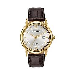Citizen - Men's eco-drive strap watch aw1232-04a