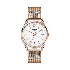 Henry London - Ladies rose gold 'Richmond' bracelet watch hl39-m-0026
