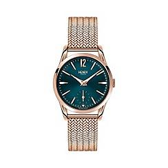 Henry London - Ladies rose gold 'Stratford' bracelet watch hl30-um-0130