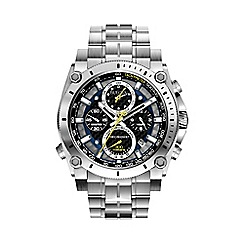 Bulova - Men's stainless steel chronograph bracelet watch 96g175