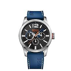 Boss Orange - Men's black chronograph strap watch 1513250
