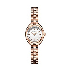 Rotary - Ladies rose gold plated watch lb05016/02