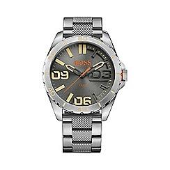 Boss Orange - Men's silver grey bracelet watch 1513317