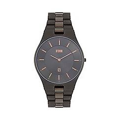 STORM London - Gents titanium SLIM-X XL metal strap watch slim x xl titan