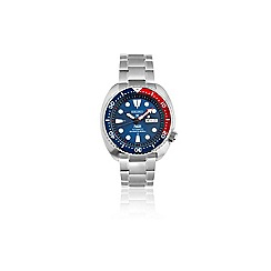 Seiko - Gents Prospex PADI Stainless Steel Divers Bracelet Watch srpa21k1