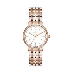 DKNY - Ladies Rose gold Minetta watch ny2504