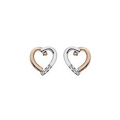 Hot Diamonds - Heart earrings