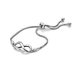 Hot Diamonds - Sterling Silver Infinity Draw bracelet