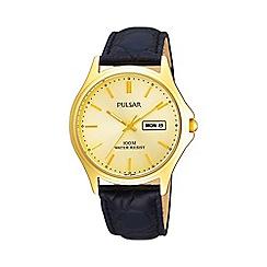 Pulsar - Gents GP strap watch pxf296x1
