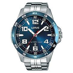 Lorus - Men's blue sports bracelet watch rh901gx9