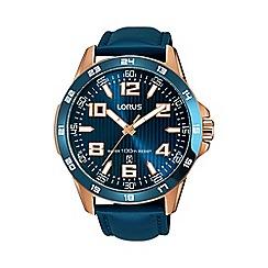 Lorus - Men's blue sports strap watch rh908gx9