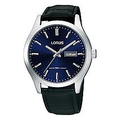 Lorus - Men's blue classic strap watch rxn33dx9