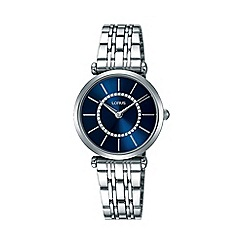 Lorus - Women's blue dial dress bracelet watch rrw97ex9