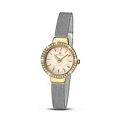 Accurist - Ladies Gold plated stainless steel bracelet watch 8142.01