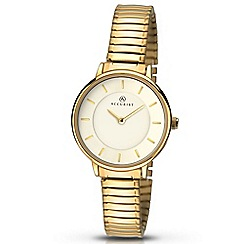 Accurist - Women's gold plated expander bracelet watch 8140.01