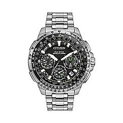 Citizen - Men's Stainless Steel Satellite Wave GPS Chronograph Watch CC9030-51E