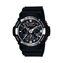 Casio - Men's black 'G Shock' chronograph digital watch ga-200-1aer