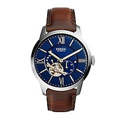 Fossil - Men's Townsman leather watch me3110