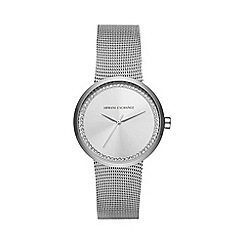 Armani Exchange - Ladies mesh bracelet watch ax4501