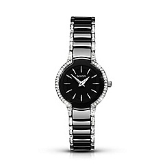 Seksy - Entice ladies black ceramic fashion watch 2380.37